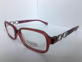 New COACH HC 6018 5032 Virginia Burgundy  51mm Burgundy Women's Eyeglasses Frame - $74.99