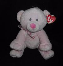 Nuovo Ty 2012 Pluffies Amore Rosa Confetto Orsacchiotto Cuore Peluche Pe... - $18.46