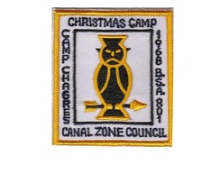 Boy Scouts of America BSA Canal Zone Council Christmas Camp 68 Camp Chagres Pana - $9.99