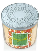 Bath & Body Works Honeysuckle Three Wick 14.5 Ounces Scented Candle image 2