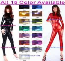 Sexy Body Suit 15 Color Shiny Metallic Suit Catsuit Costumes Unisex Body... - $32.99