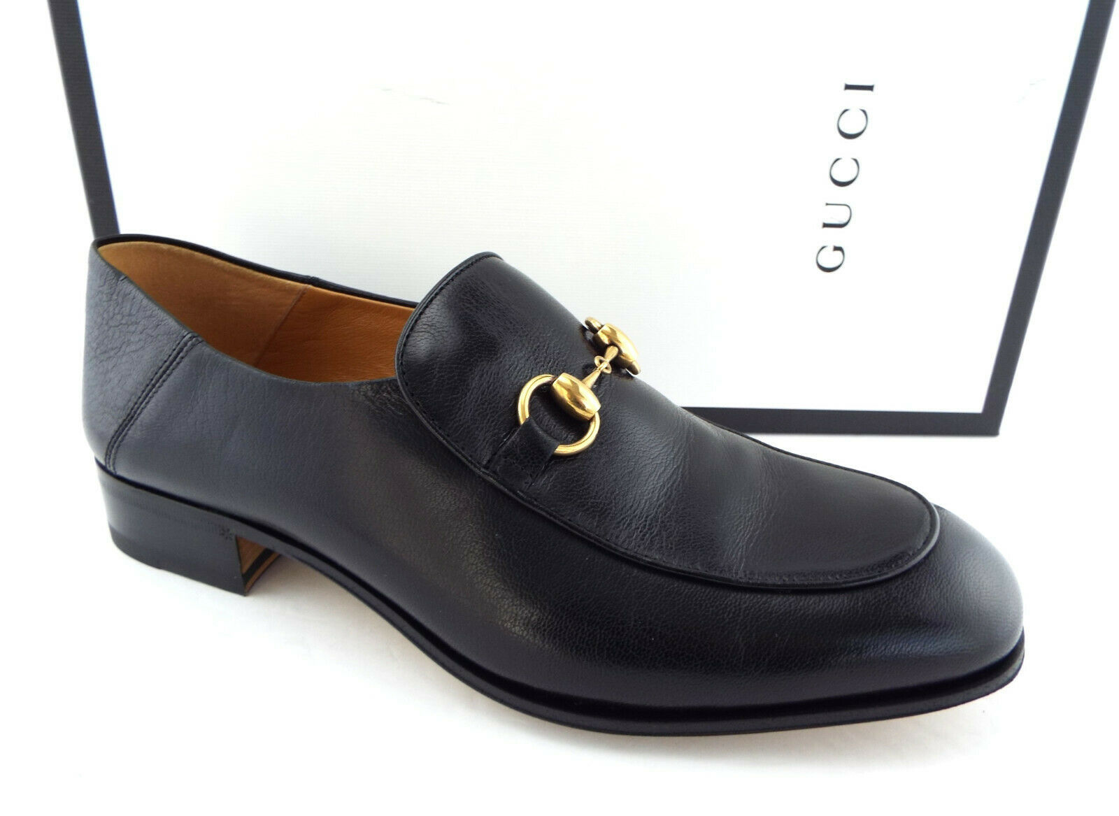 b3ecea1ec New GUCCI Size 8.5 Black Horsebit and 50 similar items