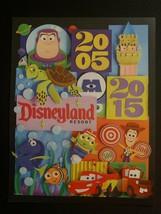 DISNEYLAND 60th Anniversary Lithograph Pixar Pier Cars Land 8.5x11 2005-2015 - $23.02