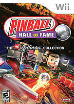 Pinball Hall of Fame: The Williams Collection (Nintendo Wii, 2008) - $14.24