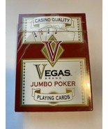 New Vegas Brand Casino Quality Red Playing Cards  - $7.91
