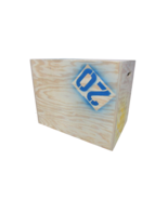 Garage Gym Plyometric Box 30in x 24in x 20in 3 in 1 Natural 3/4in Plywood - $153.79