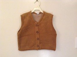 Children's Fuzzy Soft Vest by Cow and Lizard 80 % Cotton New with Tags