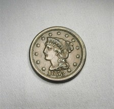 1853 Large Cent AU Coin AI094 - $115.07