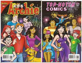 Archie Comics #666 Cover A & Top Notch Comics #666 Cover C   - $14.95