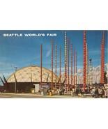 Seattle World Fair, 1962 unused Postcard  - $4.50