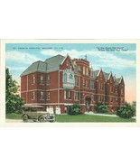 St. Francis Hospital, Macomb Il, 1910s-1920s unused Postcard  - $7.99