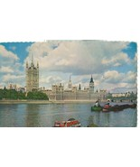 United Kingdom, The Houses of Parliament, London, 1962 used Postcard  - $3.50