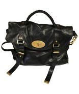 Mulberry Alexa Shoulder Black leather Satchel bag - $800.00