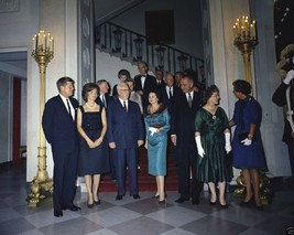 President John F. Kennedy and Jackie with Supreme Court Justices New 8x1... - $6.16