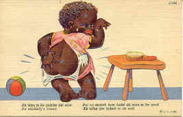 I ve Been Spanked Black Comic Post Card - $6.00
