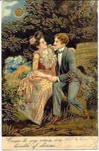 My Bundle of Charms Paul Finkenrath of Berlin 1907 Post Card - $7.00