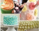 24 pcs cake decorating kit 1silicone icing pen,3 cake molds piping bag icing pen