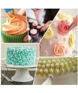 24 pcs cake decorating kit 1silicone icing pen,3 cake molds piping bag i... - $18.99