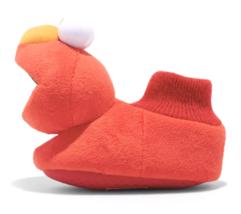Bambini Piccolo Ragazze Sesame Street Elmo Anti Infilare Calzino Pantofole Nuovo image 2