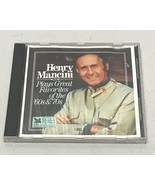 Henry Mancini Plays Great Favorites of the 60's & 70's Complete Very Cle... - $12.85
