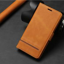 K36) Leather wallet FLIP MAGNETIC BACK cover Case For Huawei honor model - $50.62