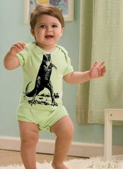 Primary image for 12-18m Funny Boy Girl Baby T-Rex Dinosaur Child Head Creeper