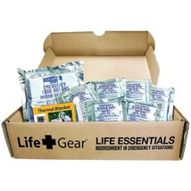Life+Gear LG329 Life Essential 72-Hour Food & Water Kit - $44.59