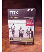 TRX Performance Team Sports DVD and Workout Guide, Used, with Todd Durkin - $7.95