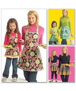 McCall's Pattern M5720 Mother & Daughter Apron Sets - $16.00