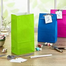 Hallmark Solid Color Party Favor and Wrapped Treat Bags 30 Ct., 5 Each of Blue,  image 2