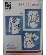 "Pattern 745 Women's ""Wow!Tunic""  Long Sleeves Sz XXS - XXL - $6.99"