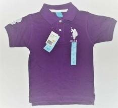 U.S. Polo Assn. Toddler Boys Purple Polo Shirt Sizes 3T NWT - $13.57