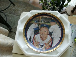 17#5 The Hamilton Collection Power At The Plate Mickey Mantle Collectors Plate - $13.85