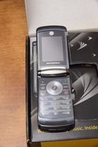 NEW DARK BLUE BLACK SPRINT PCS MOTOROLA V9M RAZR 2 RAZR2 GOOD VERIFIED MEID - $139.99