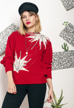 Knit jumper - 80s vintage sweater - $40.09