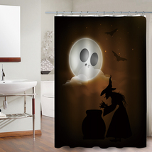 Party Happy Halloween 29 Shower Curtain Waterproof Polyester Fabric For Bathroom - $33.30+
