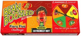 JELLY BELLY Bean Boozled FIERY FIVE Jelly Beans & Spinner Game Carolina Reaper image 2