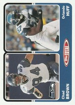 2003 Topps Total #431 Chad Brown/Orlando Huff  - $0.50