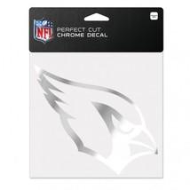 Arizona Cardinals Decal 6x6 Perfect Cut Chrome**Free Shipping** - $17.70