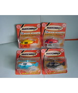 Burger King Matchbox RESCUE HELICOPTER  set of four - $9.99