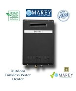 Outdoor Tankless Water Heater Liquid Propane Gas Marey GA22OLP 6 GPM - $589.99
