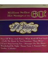 101 Strings: Million Seller Hit Songs of the 60's - LP Vinyl Record Album - $9.90