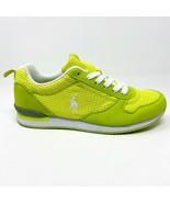 Polo Ralph Lauren Citron Dash Florescent Yellow Junior Sneakers 990102J - $29.95