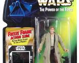 Star Wars POTF Han Solo in Endor Gear (freeze frame)  action figure