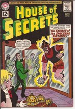 DC House Of Secrets #56 The Secret Of The Spectral Crimes Sci-Fi Horror Mystery - $9.95