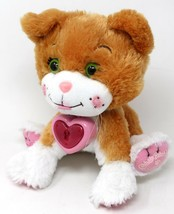 Cabbage Patch Kids Adoptimals  Plush Pet Cat Beige Kitty Purrs and Meows - $19.62
