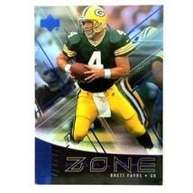 Brett Favre 1999 Upper Deck Highlight Zone Insert Card NFL Green Bay Pac... - $5.89