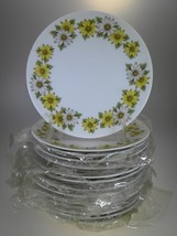 Noritake Marguerite Appetizer Or Hors d'oeuvres Plates Set of 14 - $30.81