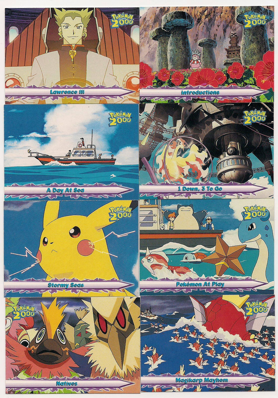 Set Of 15 Topps Pokemon The Movie 2000 Cards And 50 Similar Items