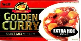 S&B Golden Curry Sauce Mix Extra Hot 7.8 oz ( Pack of 6 ) FREE FAST SHIP... - $32.71